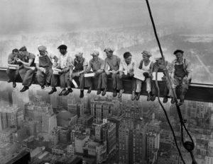 Almuerzo en Rascacielos